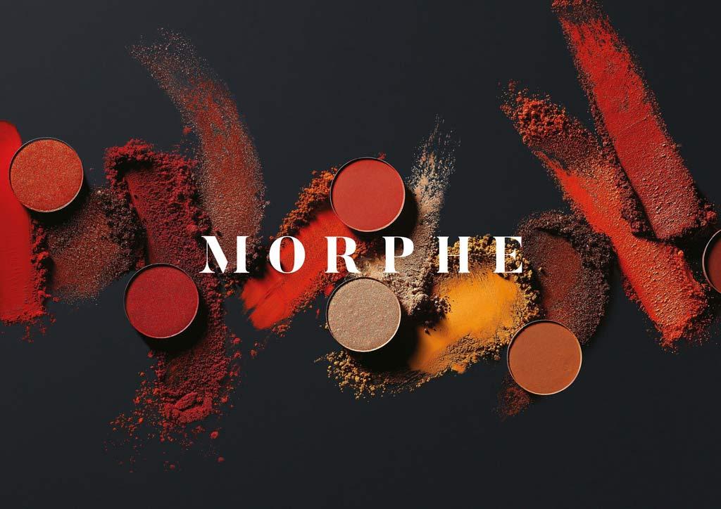 معرفی برند مورفی (morphe) رنگ ها را به سوی خود فراخوانید