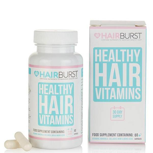 کپسول های ویتامینه و رشد مو هیربرست