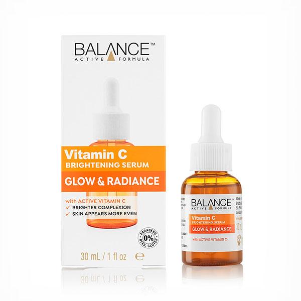 سرم ویتامین c و روشن کننده پوست بالانس اصل
