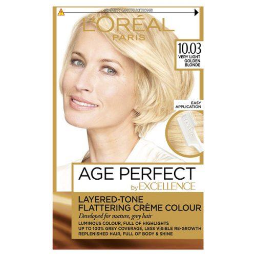 کیت رنگ مو لورال مدل Excellence شماره10.03