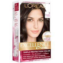 کیت رنگ مو لورال اصل مدل Excellence شماره ۳