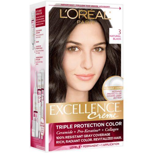 کیت رنگ مو لورال مدل Excellence شماره 3