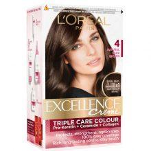 کیت رنگ مو لورال اصل مدل Excellence شماره ۴