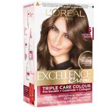 کیت رنگ مو لورال مدل Excellence شماره۵