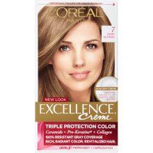 کیت رنگ مو لورال اصل مدل Excellence شماره۷