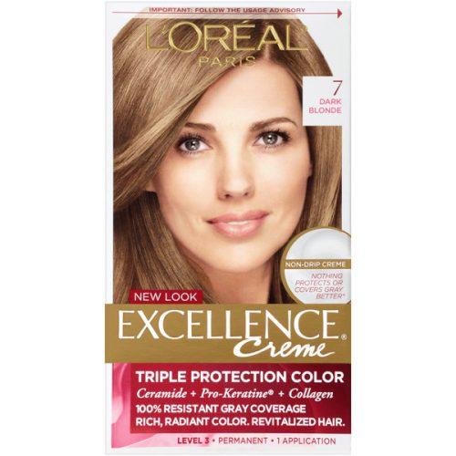 کیت رنگ مو لورال مدل Excellence شماره7