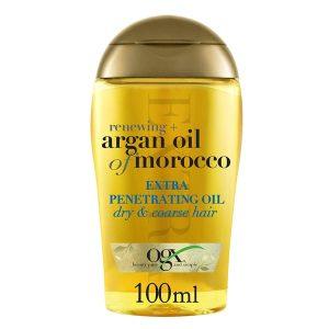 روغن آرگان اصل او جی ایکس موی خشک ۱۰۰میل | OGX Renewing+ Argan Oil of Morocco Extra Penetrating