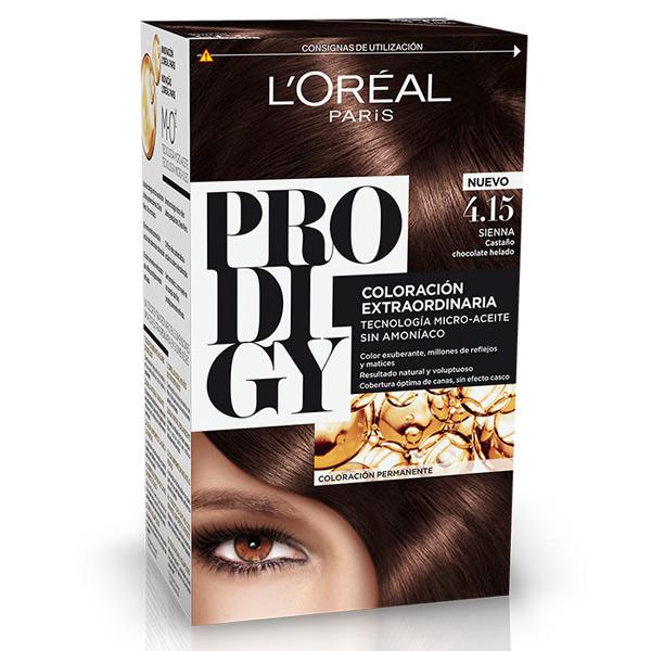 رنگ موی لورال پرودیجی بدون آمونیاک جدید شماره 4.15