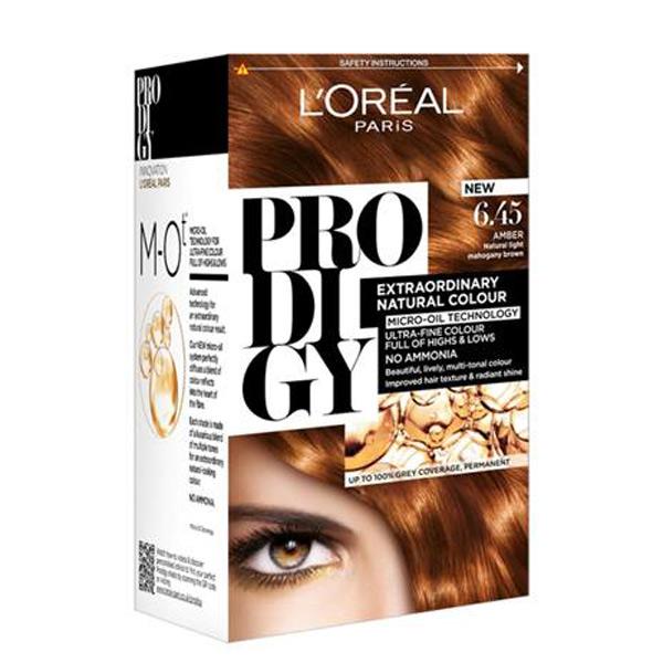 رنگ موی لورال پرودیجی بدون آمونیاک جدید شماره 6.45
