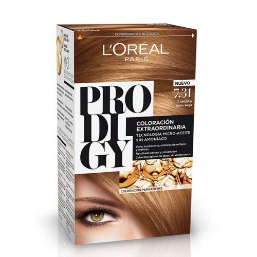 رنگ موی لورال پرودیجی بدون آمونیاک جدید شماره 7.31