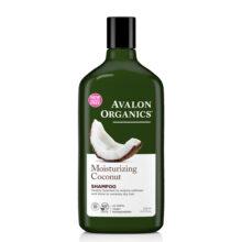 شامپو مرطوب کننده نارگیل اصل اولون ارگانیک ۳۲۵ میلی لیتر