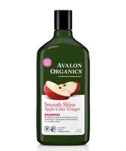 شامپو اصل درخشان کننده و صاف کننده سرکه سیب ارگانیک اولون