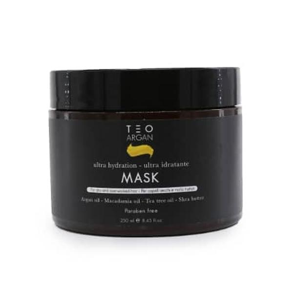 ماسک روغن آرگان تقویتی موی کراتینه شده تئوتما اصل (بدون سولفات)