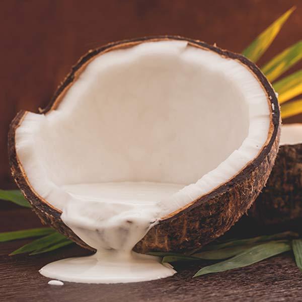شامپو او جی ایکس OGX اصل شیر نارگیل   مغذی و نرم کننده فوق العاده مو