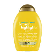 شامپو او جی ایکس OGX اصل لیمویی هایلایت |  تقویتی و شفاف کننده موهای روشن