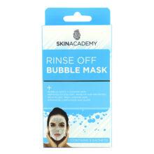 ماسک حباب اسکین اکادمی اصل انگلیس | پاکسازی و شفاف کننده پوست