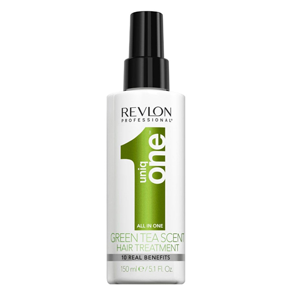 اسپری رولون اصل 10 کاره یونیک وان چای سبز 150 میل   Revlon Uniq One Green Tea All In One Hair Treatment