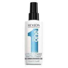 اسپری موی رولون اصل ۱۰ کاره یونیک وان ارکیده آبی ۱۵۰ میل | Revlon Unique One 10 In 1 Blue Orchid Spray