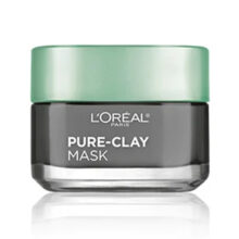 ماسک خاک رس لطافت بخش پوست لورال پاریس اصل مدل Pure Clay حجم ۵۰ میل