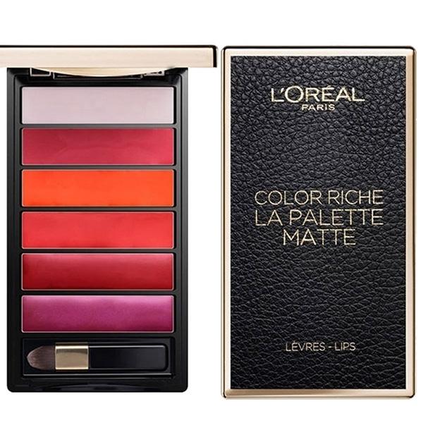 La Palette Matte Lips (Levres) 6 Shades Bold