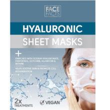 شیت ماسک هیالورونیک فیس فکت انگلیس | Face Facts Hyaluronic Sheet Mask