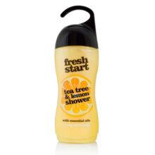 شامپو بدن لیمو و درخت چای فرش استارت انگلیسی ۴۰۰ میل | شاور ژل عصاره لیمو و درخت چای Fresh Start