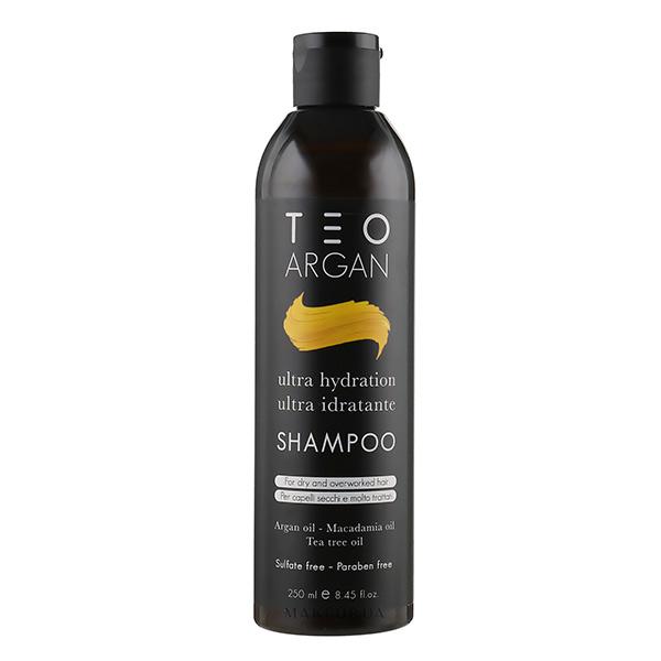 شامپو روغن آرگان تقویتی موی کراتینه شده تیوتیما (بدون سولفات)