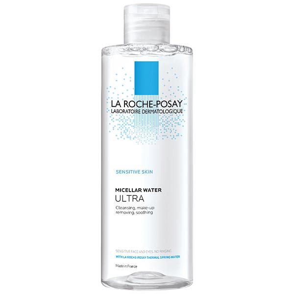 میسلارواتر پاک کننده آرایش پوست بسیار حساس لاروش پوزای
