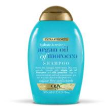 شامپو آبرسان و احیا کننده قوی مو او جی ایکس حاوی روغن آرگان مراکش ۳۸۵ میلی | OGX Hydrate + Revive Argan Oil of Morocco Shampoo  | بدون سولفات، آبرسان و احیا کننده قوی مو