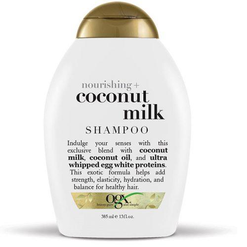 شامپو او جی ایکس OGX اصل شیر نارگیل | مغذی و نرم کننده فوق العاده مو