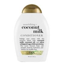نرم کننده مغذی شیر نارگیل او جی ایکس ۳۸۵ میلی | OGX Nourishing Coconut Milk Conditioner  | بدون سولفات، آبرسان و انعطاف بخشی به مو