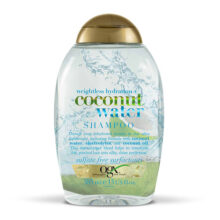 شامپو آبرسان آب نارگیل او جی ایکس ۳۸۵ میلی | OGX Weightless Hydration + Coconut Water  | بدون سولفات، سبک، آبرسان قوی برای موهای خشک