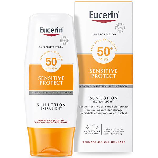 ژل کرم ضد آفتاب صورت و بدن اوسرین SPF50