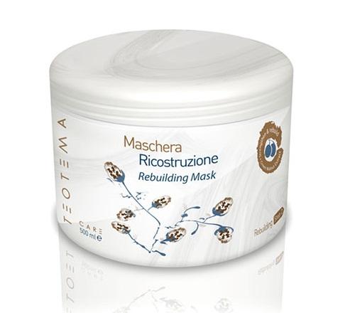 ماسک مو ترمیمی قوی و کراتینه تئوتما اصل برای کراتینه موهای خشک و آسیب دیده