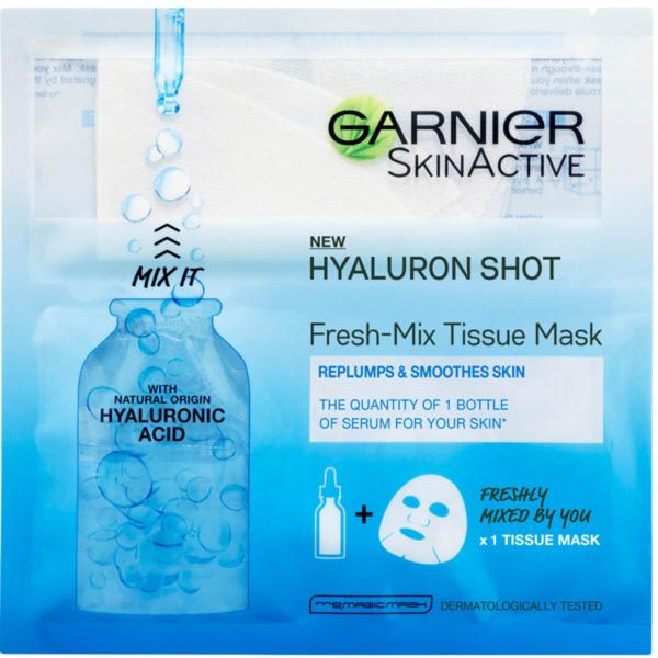 ماسک ورقه ای هیالورونیک اسید گارنیر
