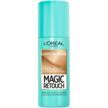 اسپری رنگ (کانسیلر) ریشه مو لورال مدل Magic Retouch | رنگ Light Blonde | حجم ۷۵ میل