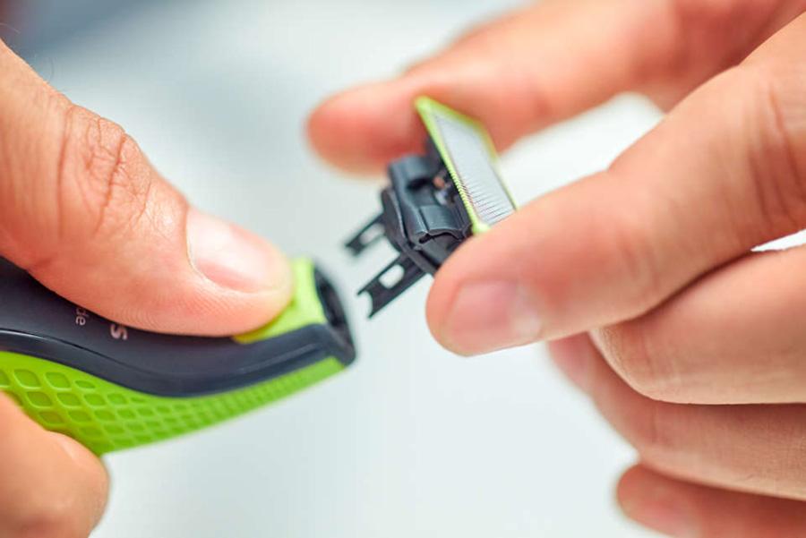 ویژگیهای ریش تراش یک تیغه فیلیپس مدل 3Click-On