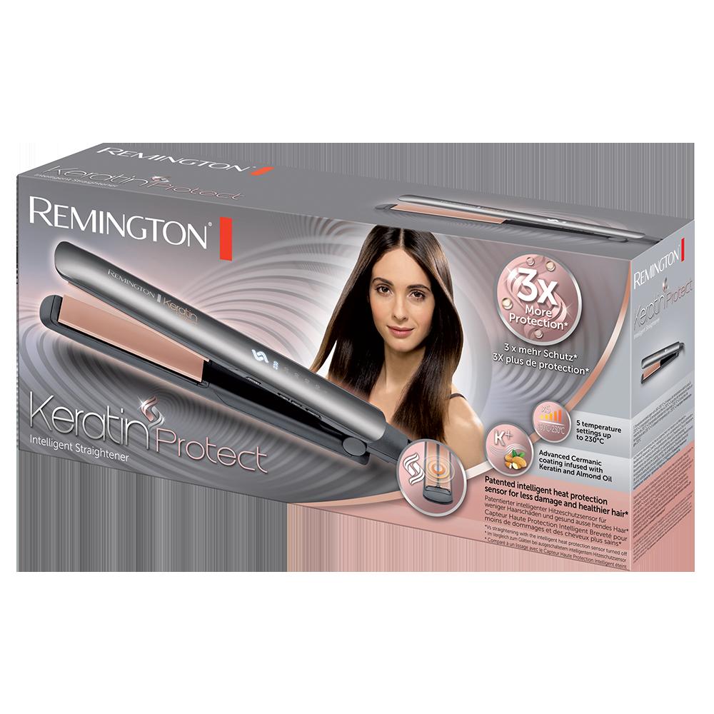 اتو موی هوشمند محافظ کراتین رمینگتون