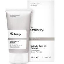 ماسک سالیسیلیک اسید ۲% اوردینری ۵۰ میل | ضدلک، شفاف کننده، لایه بردار | THE ORDINARY Salicylic Acid 2%