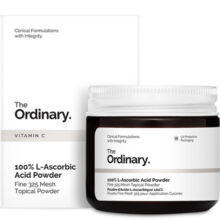 پودر ویتامین سی (ال اسکوربیک اسید) اوردینری ۲۰گرم | ضد لک، روشن کننده، جوانساز