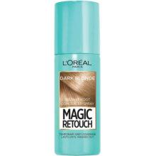 اسپری رنگ (کانسیلر) ریشه مو لورال مدل Magic Retouch | رنگ Dark Blonde | حجم ۷۵ میل