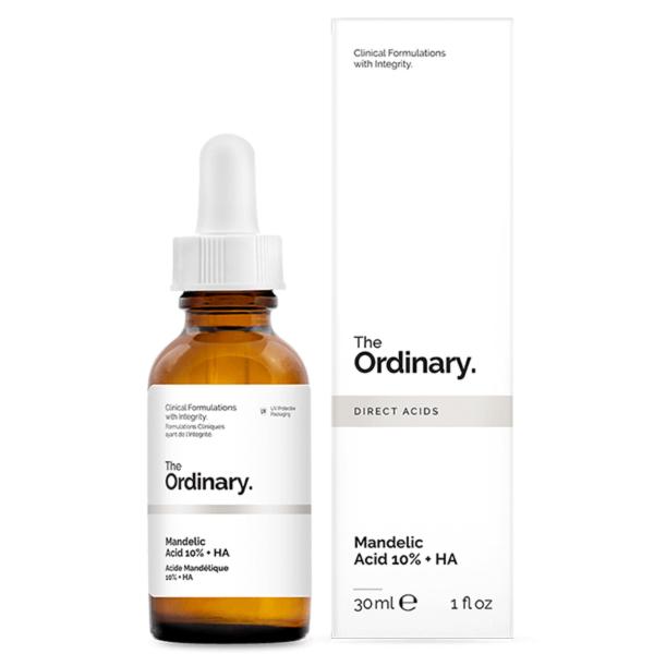 سرم اوردینری ماندلیک اسید 10% + هیالورونیک اسید 30 میل | جوانساز ضدلک و آکنه و روشن کننده| The Ordinary Mandelic Acid 10% + HA 30ml