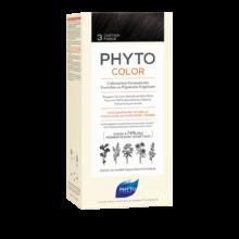 رنگ موی بدون آمونیاک فیتو کالر شماره ۳ (جدید) | رنگ موی دائمی و گیاهی Phyto Phytocolor