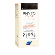 رنگ موی بدون آمونیاک فیتو کالر شماره ۴ (جدید) | رنگ موی دائمی و گیاهی Phyto Phytocolor