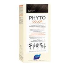 رنگ موی بدون آمونیاک فیتو کالر شماره ۵ (جدید) | رنگ موی دائمی و گیاهی Phyto Phytocolor