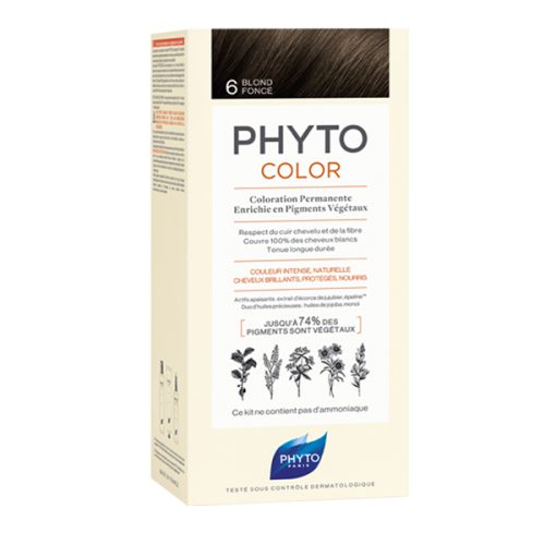 رنگ موی بدون آمونیاک فیتو کالر شماره 6