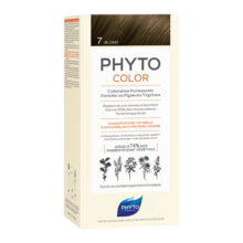 رنگ موی بدون آمونیاک فیتو کالر شماره ۷ (جدید) | رنگ موی دائمی و گیاهی Phyto Phytocolor