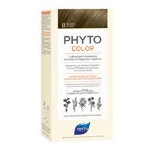 رنگ موی بدون آمونیاک فیتو کالر شماره ۸ (جدید) | رنگ موی دائمی و گیاهی Phyto Phytocolor