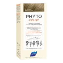 رنگ موی بدون آمونیاک فیتو کالر شماره ۹ (جدید) | رنگ موی دائمی و گیاهی Phyto Phytocolor