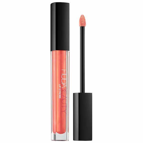 رژ لب براق و حجم دهنده هدی بیوتی - رژلب مایع Hudabeauty Lip Strobe